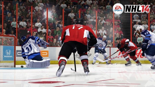 NHL 14 Screenshot #56 for Xbox 360