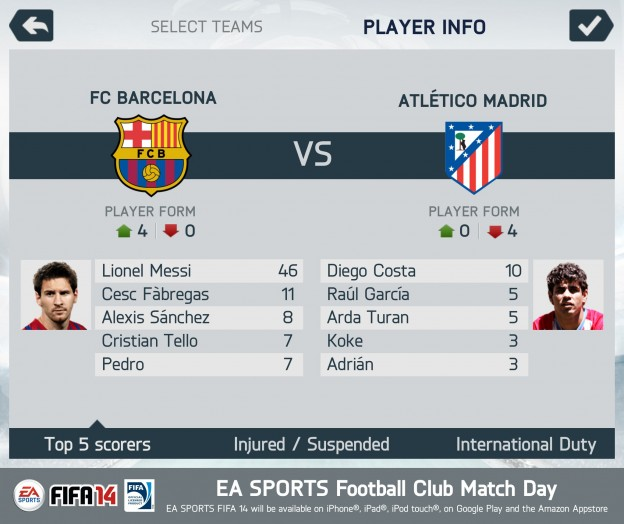 FIFA Soccer 14 Screenshot #4 for iOS