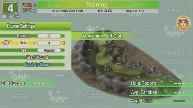 Hot Shots Golf: World Invitational Screenshot #3 for PS3