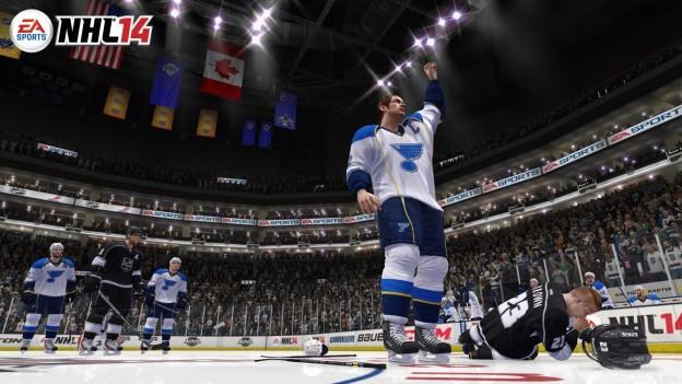 NHL 14 Screenshot #81 for Xbox 360