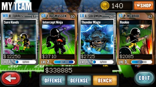 Football Heroes Screenshot #6 for iOS