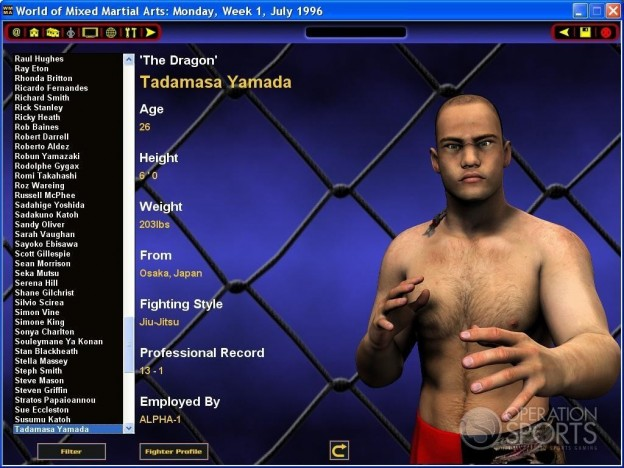 World of Mixed Martial Arts Screenshot #3 for PC