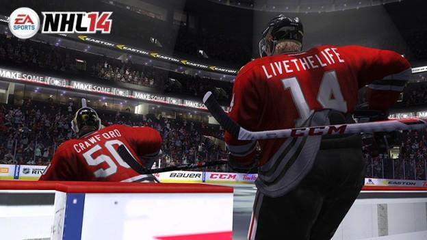 NHL 14 Screenshot #107 for Xbox 360