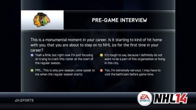 NHL 14 Screenshot #113 for Xbox 360