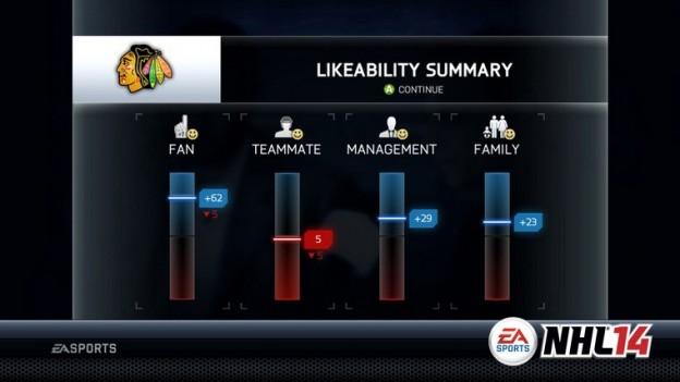 NHL 14 Screenshot #77 for PS3