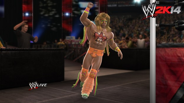 WWE 2K14 Screenshot #18 for PS3