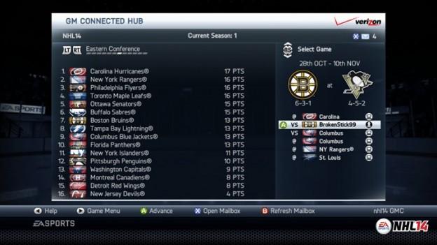 NHL 14 Screenshot #117 for Xbox 360
