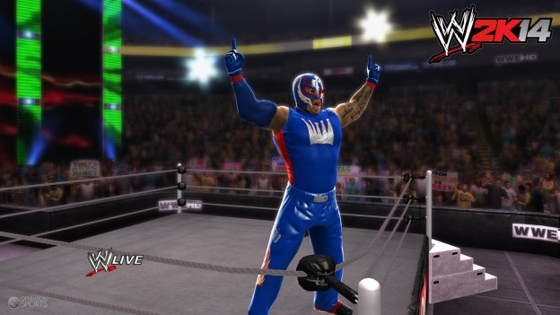 WWE 2K14 Screenshot #36 for Xbox 360