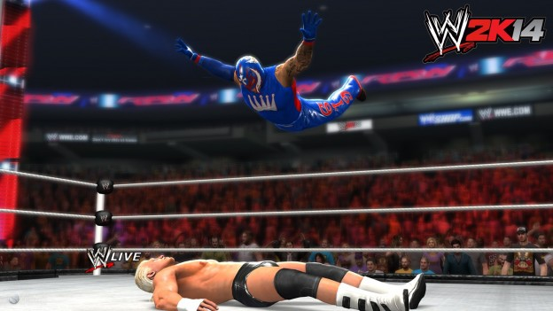 WWE 2K14 Screenshot #37 for Xbox 360