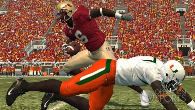 NCAA Football 09 Screenshot #1 for PS3