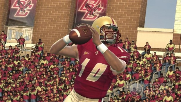 NCAA Football 09 Screenshot #3 for PS3