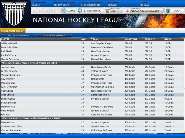 Franchise Hockey Manager Screenshot #3 for PC, Mac