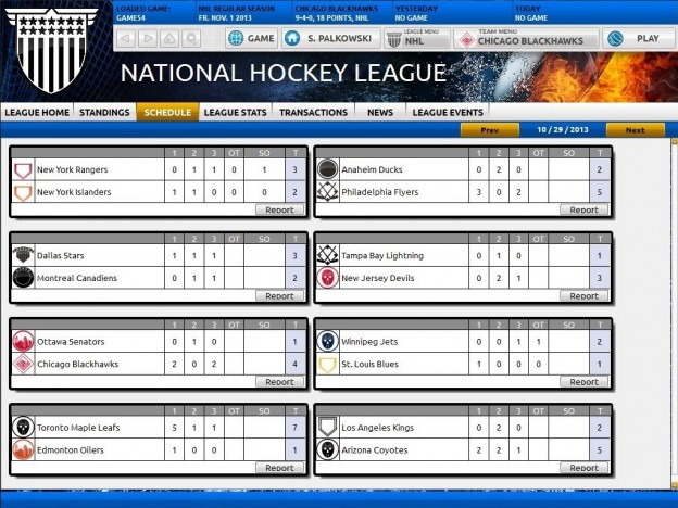 Franchise Hockey Manager Screenshot #5 for PC, Mac