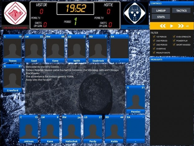 Franchise Hockey Manager Screenshot #6 for PC, Mac