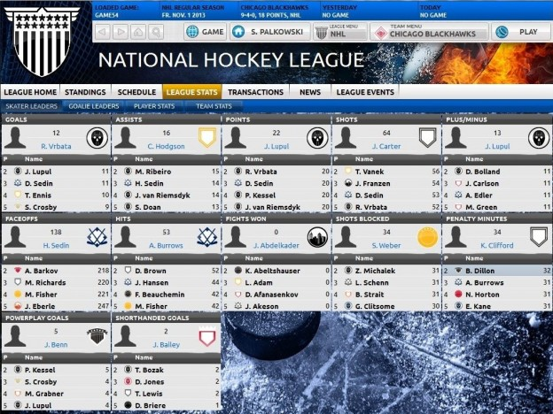 Franchise Hockey Manager Screenshot #7 for PC, Mac