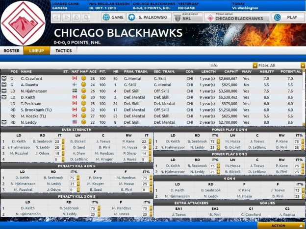 Franchise Hockey Manager Screenshot #8 for PC, Mac