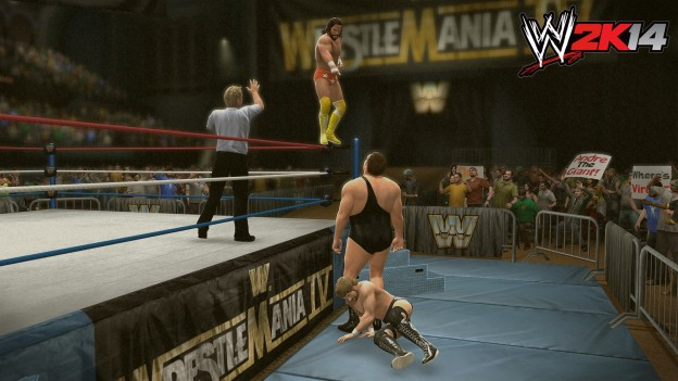 WWE 2K14 Screenshot #33 for PS3