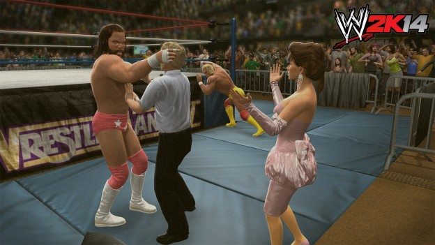 WWE 2K14 Screenshot #34 for PS3