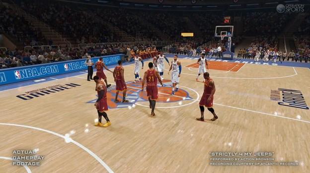 NBA Live 14 Screenshot #23 for PS4