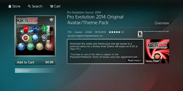 Pro Evolution Soccer 2014 Screenshot #51 for PS3