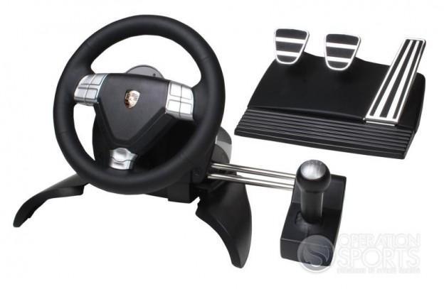 Porsche 911 Turbo Racing Wheel Screenshot #1 for PS3