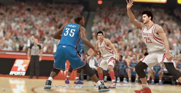 NBA 2K14 Screenshot #2 for Xbox One