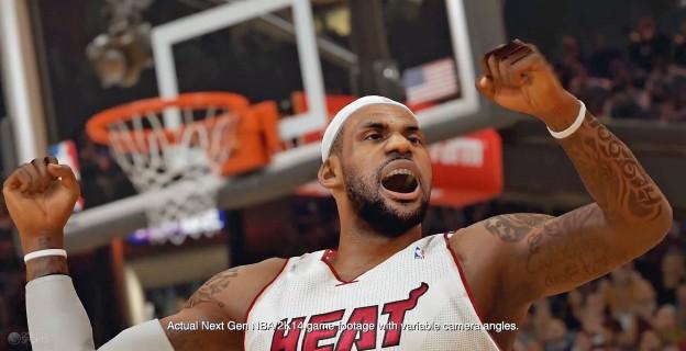 NBA 2K14 Screenshot #1 for PS4