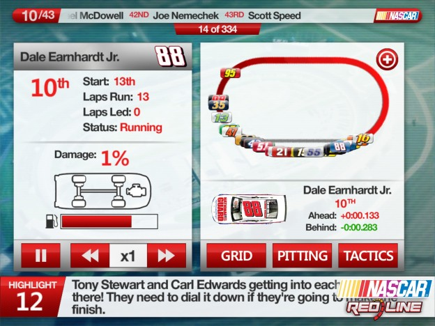 NASCAR: Redline Screenshot #1 for iOS