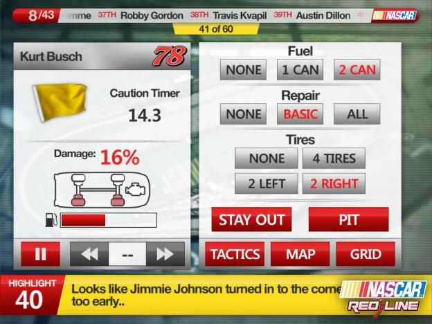 NASCAR: Redline Screenshot #3 for iOS