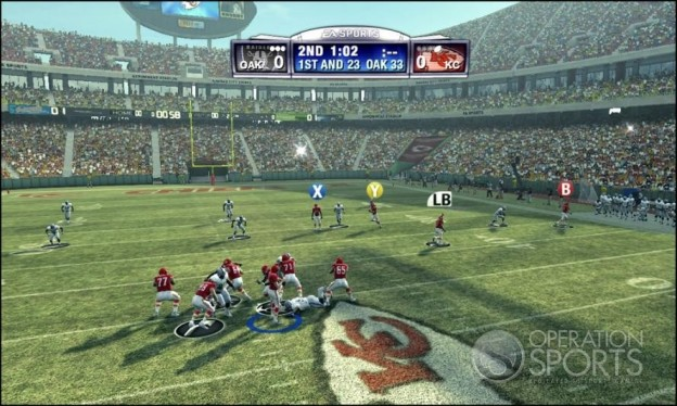 Madden NFL 09 Screenshot #10 for Xbox 360