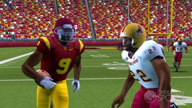 NCAA Football 09 Screenshot #1 for PSP