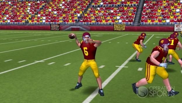 NCAA Football 09 Screenshot #2 for PSP