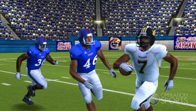 NCAA Football 09 Screenshot #3 for PSP