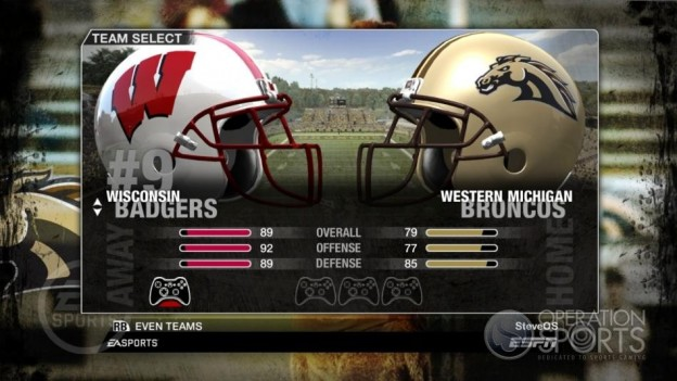 NCAA Football 09 Screenshot #30 for Xbox 360