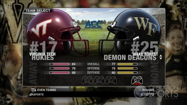 NCAA Football 09 Screenshot #33 for Xbox 360