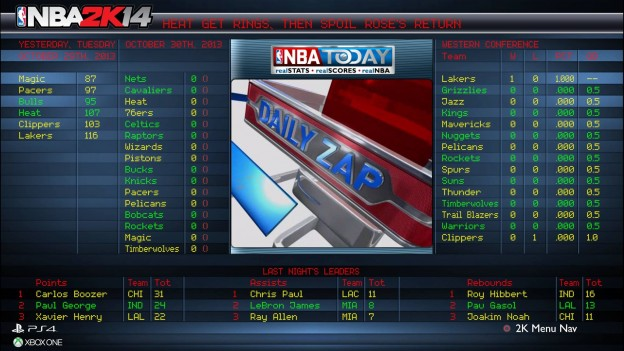 NBA 2K14 Screenshot #59 for Xbox One