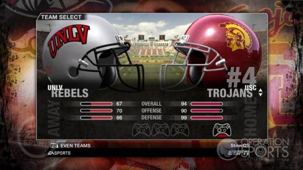 NCAA Football 09 Screenshot #37 for Xbox 360