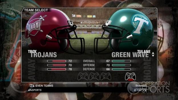 NCAA Football 09 Screenshot #41 for Xbox 360