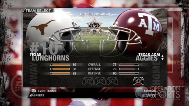 NCAA Football 09 Screenshot #43 for Xbox 360