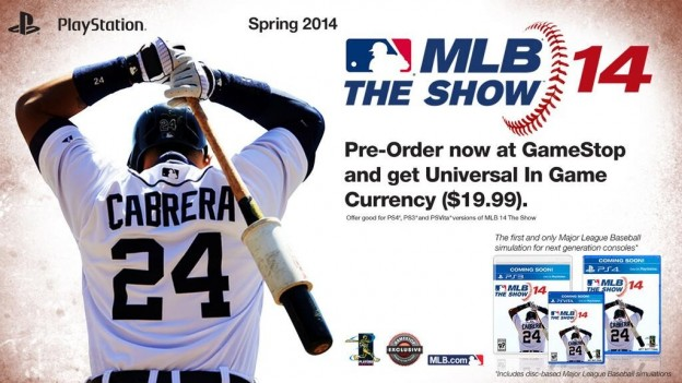 MLB 14 The Show Screenshot #1 for PS4