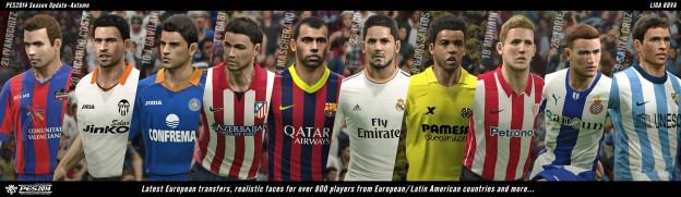 Pro Evolution Soccer 2014 Screenshot #64 for PS3