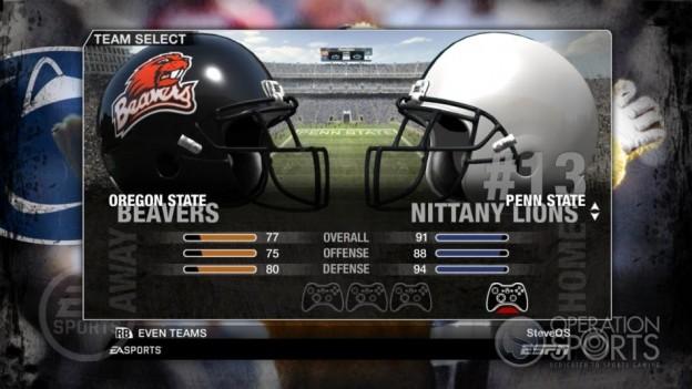NCAA Football 09 Screenshot #51 for Xbox 360
