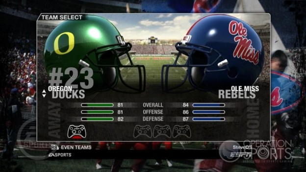 NCAA Football 09 Screenshot #52 for Xbox 360