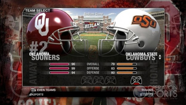 NCAA Football 09 Screenshot #53 for Xbox 360