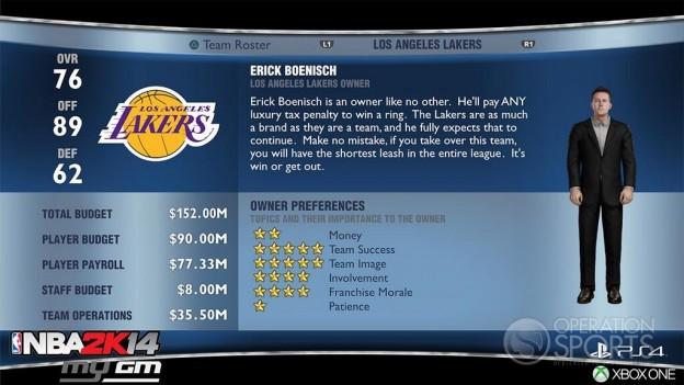 NBA 2K14 Screenshot #84 for PS4