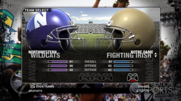 NCAA Football 09 Screenshot #55 for Xbox 360