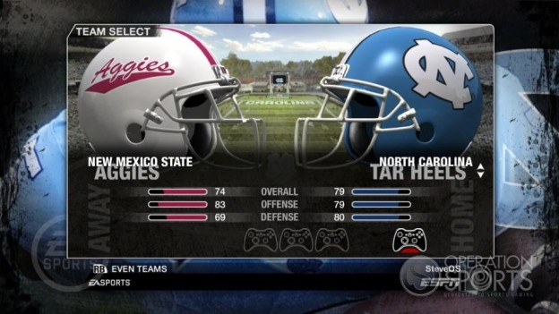 NCAA Football 09 Screenshot #57 for Xbox 360