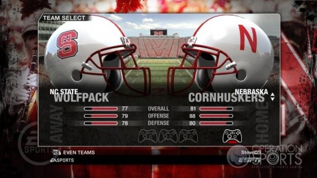 NCAA Football 09 Screenshot #59 for Xbox 360
