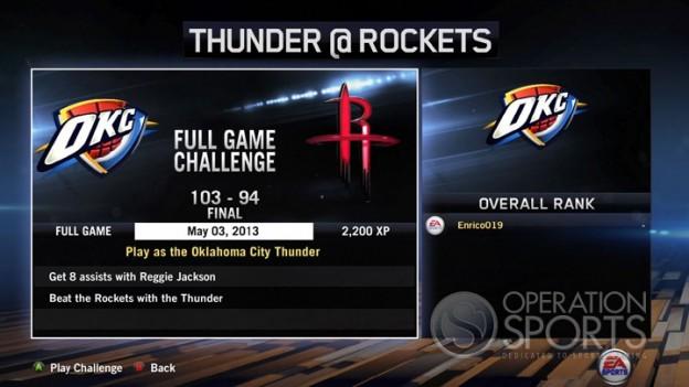 NBA Live 14 Screenshot #81 for Xbox One