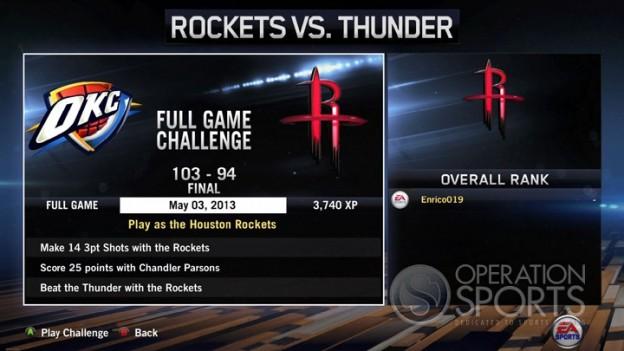NBA Live 14 Screenshot #82 for Xbox One